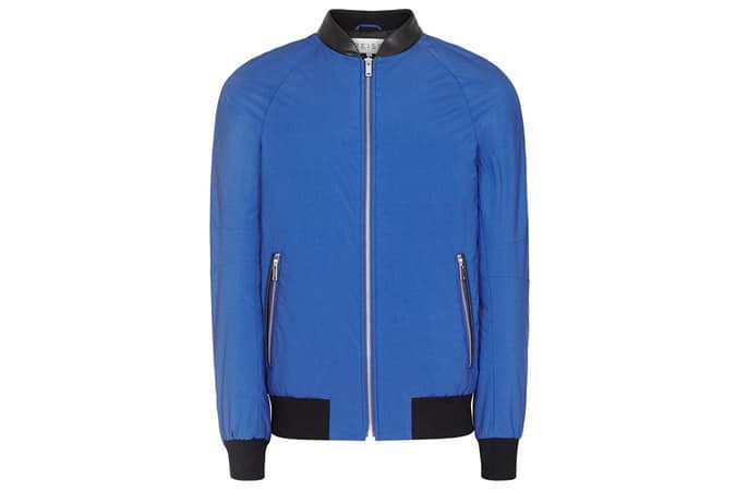 CANNES BOMBER JACKET BRIGHT BLUE