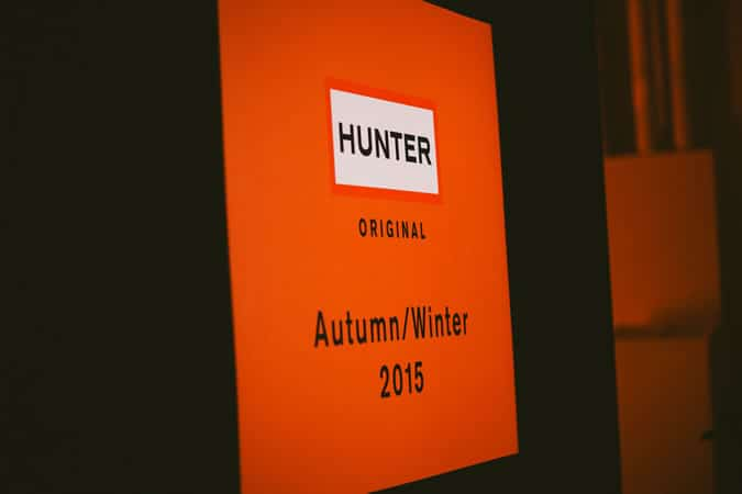 Hunter Original AW15 Collection