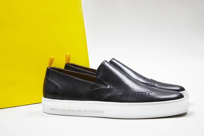 Oliver Sweeney x The School of Life The Philosopher's Shoe