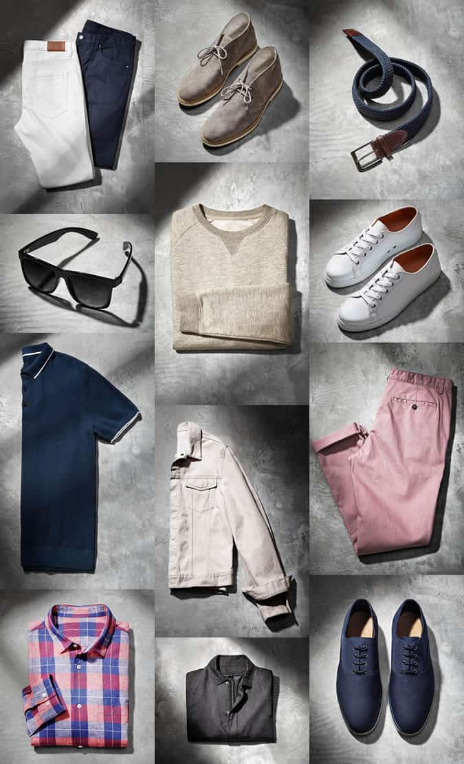 The Linen T-Shirt - H&M Modern Essentials Selected By David Beckham - Spring 2015