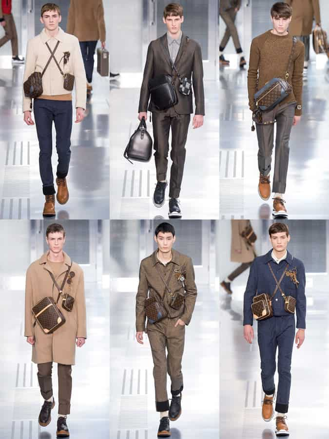 Louis Vuitton AW15 Men's Cross-Body Bags