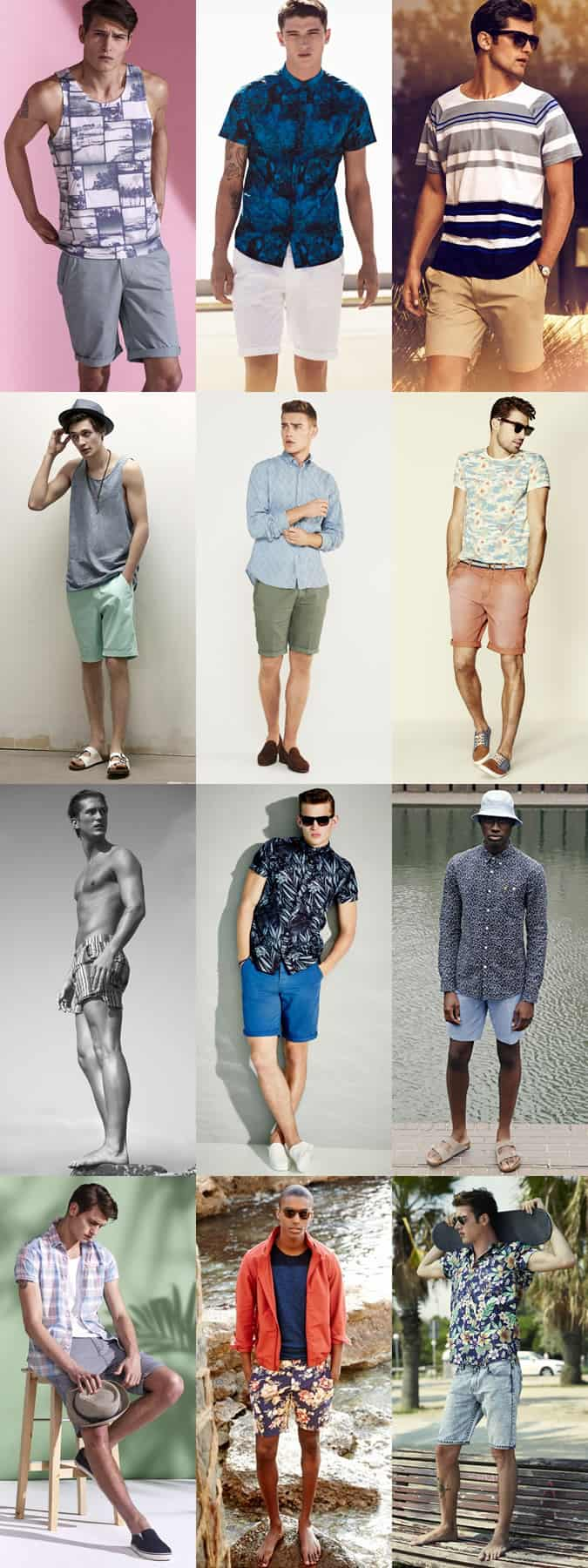 Men's Spring Beach Break - Outfit Inspiration Lookbook