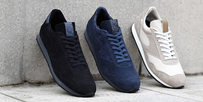 Universal Works x Norman Walsh City Runner Trainers