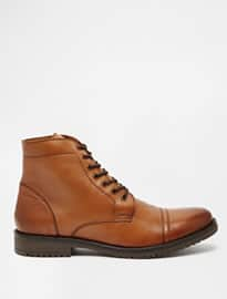 ASOS Workboots in Leather