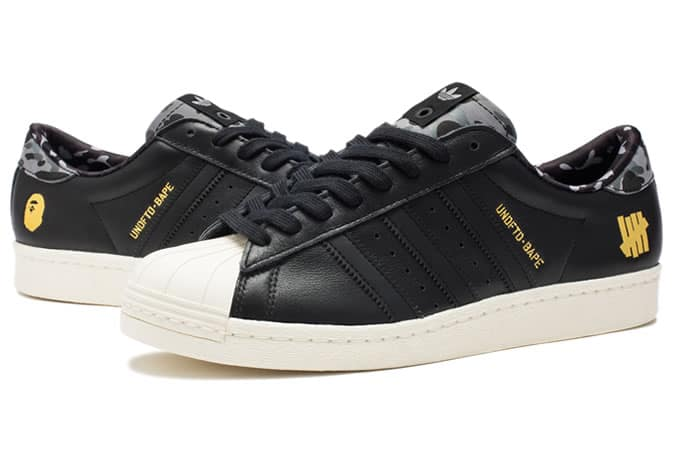 Bape x UNDFTD x Adidas Originals Superstar 80s