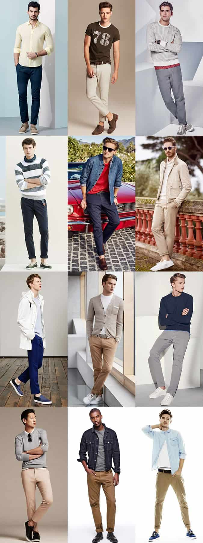 Men S Chinos Guide Spring Summer 2015 Fashionbeans