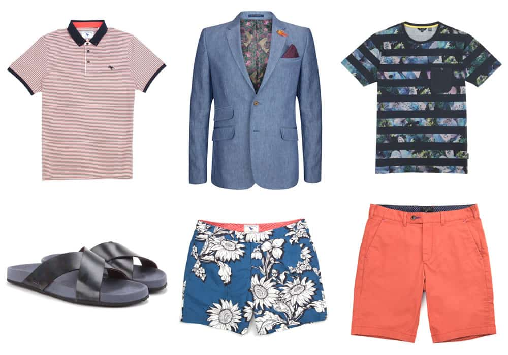 Ted Baker SS15 Holiday Shop Recommended Products - Destination: Lake Hillier, Australia