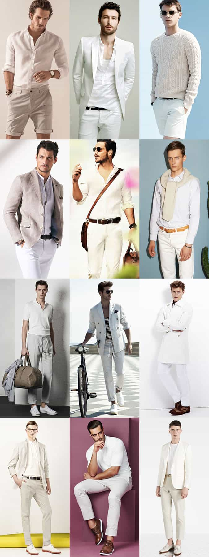 Dress code for smart casual smart casual dress code for men pictures - Men S All White Smart Casual Outfit Inspiration Lookbook