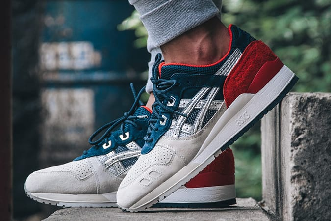 ASICS x Concepts Gel Lyte III Boston Tea Party