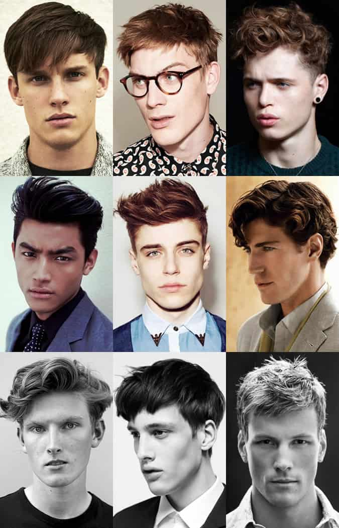 Hairstyles For Clean Shaven Men - Longer Length With Plenty Of Texture