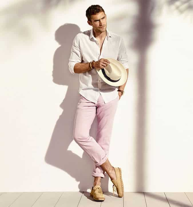 Ways To Wear Coloured Chinos Spring Summer 2015