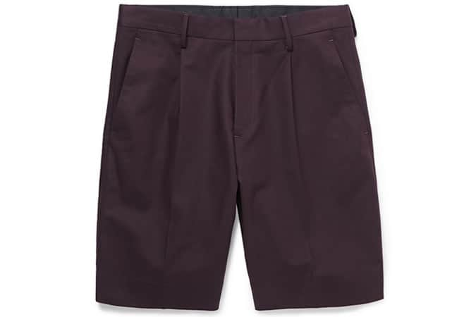 COS Tailored Cotton Shorts