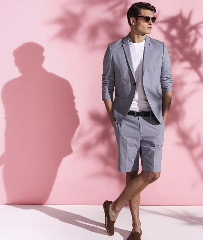 How To Wear Men's Tailored Shorts - As A Short Suit