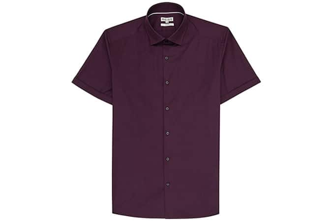 Reiss Redmayne Short Sleeve Shirt