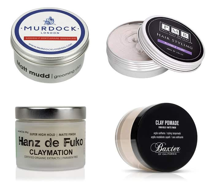 Men's Clay Hair Styling Products