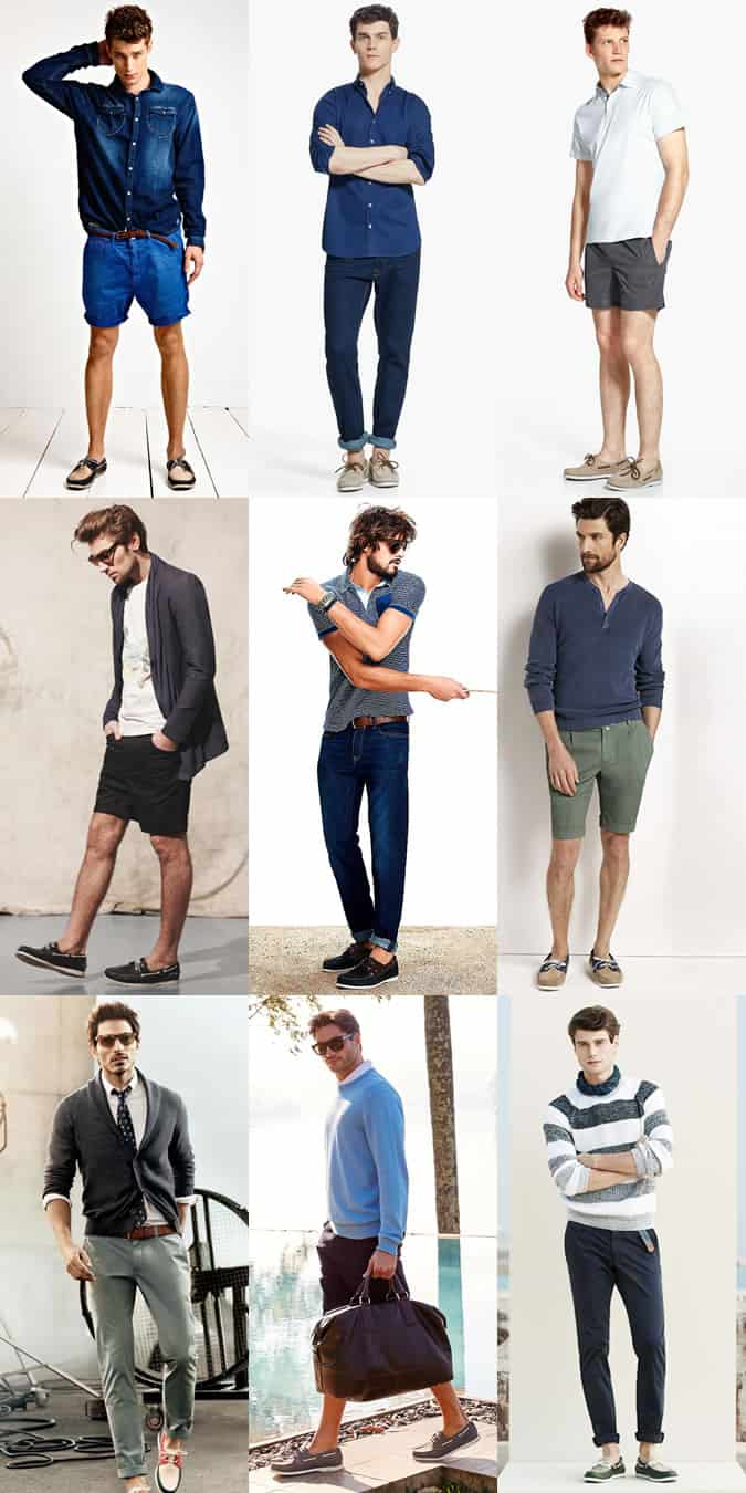 Men's Boat Shoes Spring/Summer Outfit Inspiration Lookbook