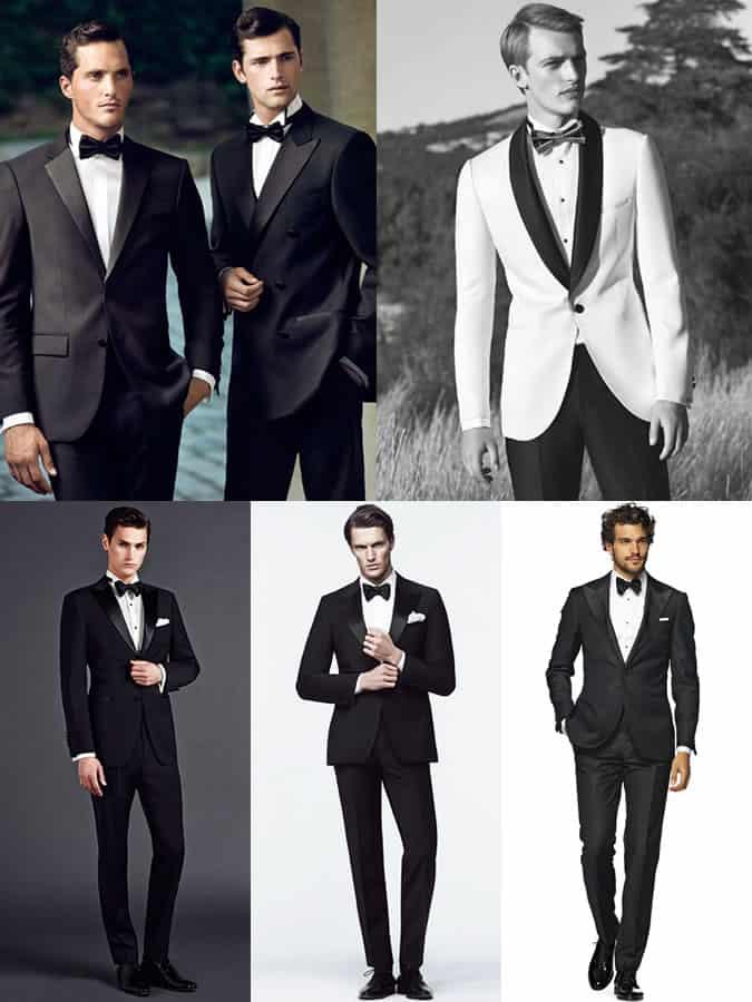 Men's Black Tie/Tuxedo Lookbook Inspiration