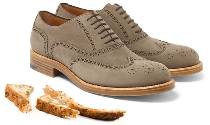 Stale Bread Crusts Can Bring Wet Suede Shoes Back To Life