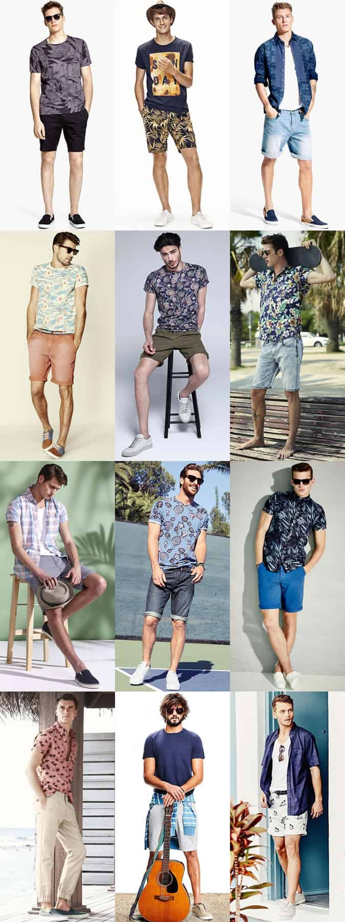 Men's Ibiza Summer Holiday Outfit Inspiration Lookbook