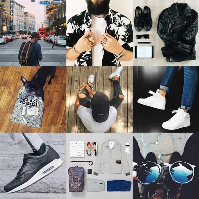 AOSS Menswear Instagram Account