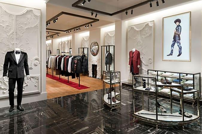 Alexander McQueen Store, Savile Row, London