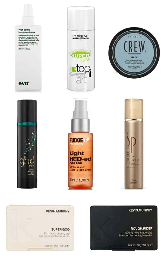 Recommended Products - Messy & Undone Texture