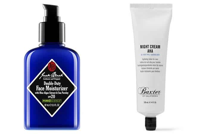 Men's Recommended Day and Night Moisturisers