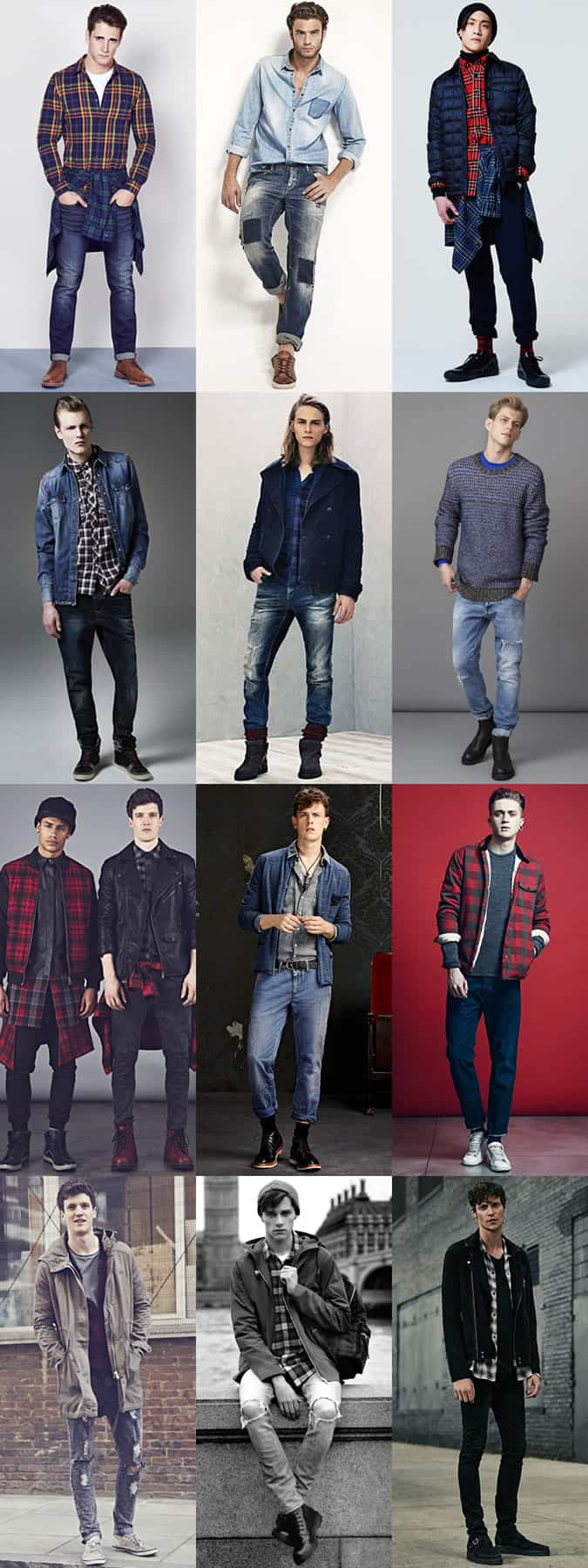 Men's Grunge Outfit Inspiration Lookbook