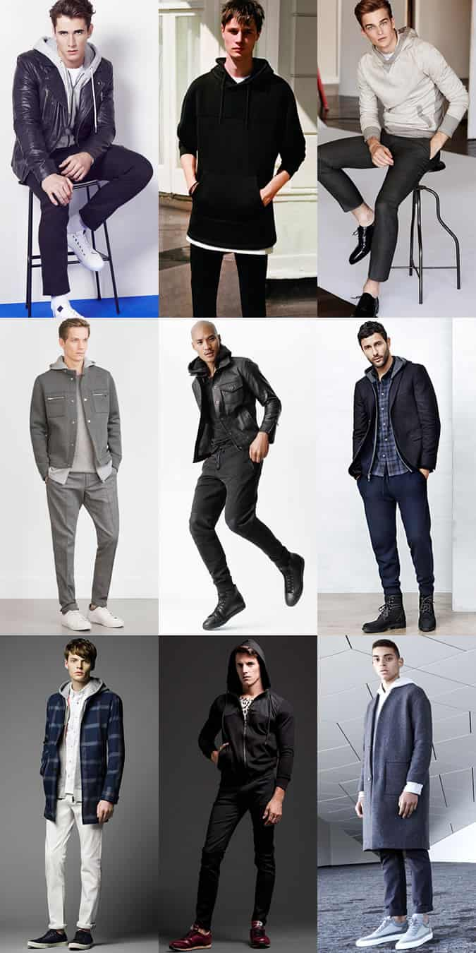 Men's Hoody Outfit Inspiration Lookbook
