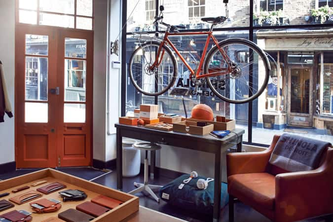 Shinola, Fouberts Place, London Store
