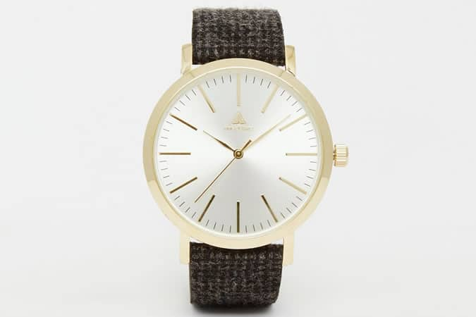 ASOS Tweed Strap Watch