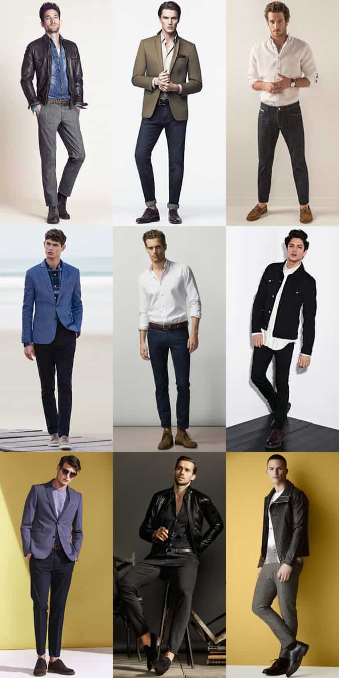 Men's Smart-Casual Outfit Inspiration Lookbook