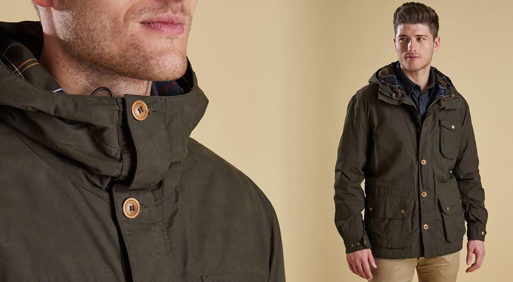 Barbour Stratus Waterproof Jacket
