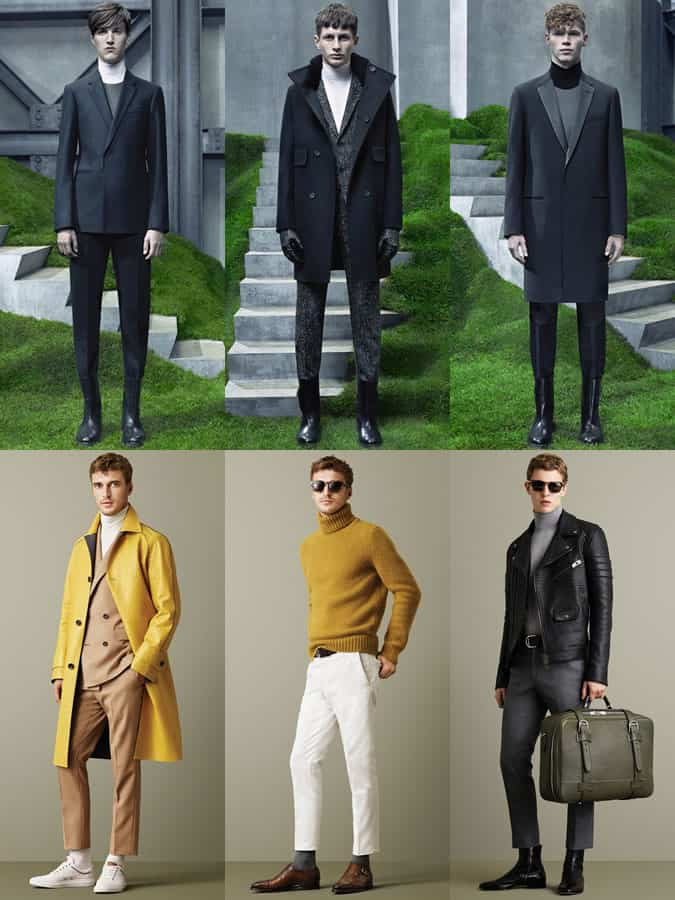 Men's Roll Necks On Autumn/Winter 2015 Runways