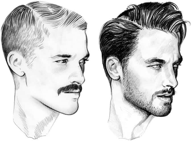 Men's Facial Hair Trends - The Moustache