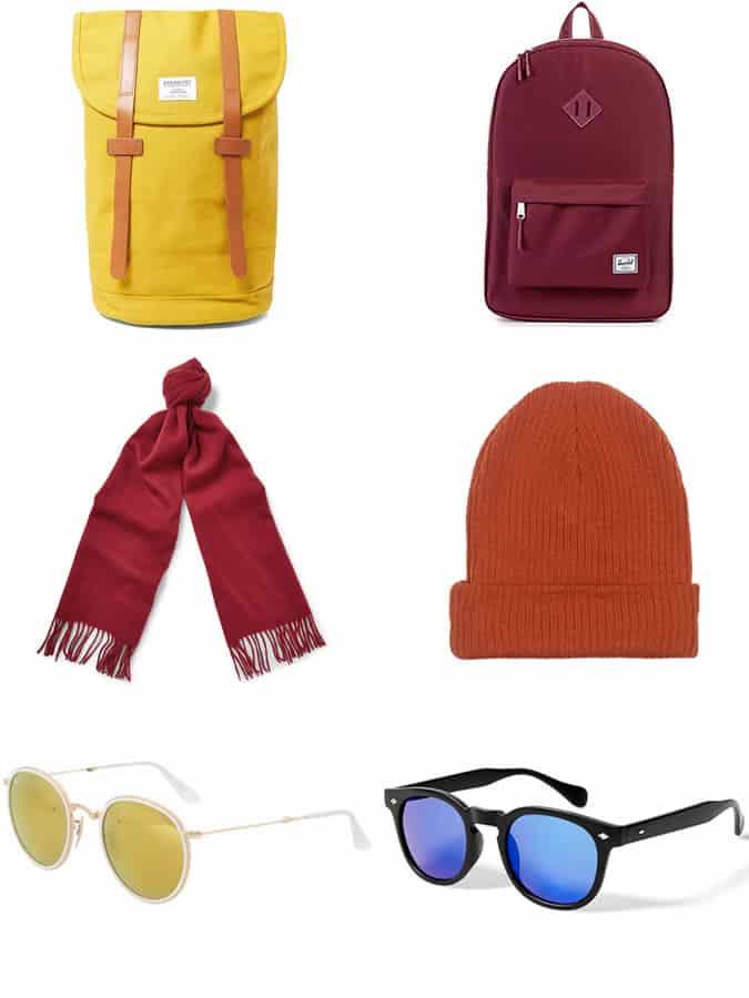 Men's Winter Colour Accessories