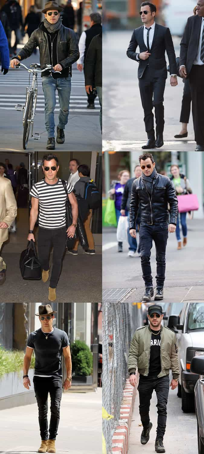 Justin Theroux Personal Style Lookbook