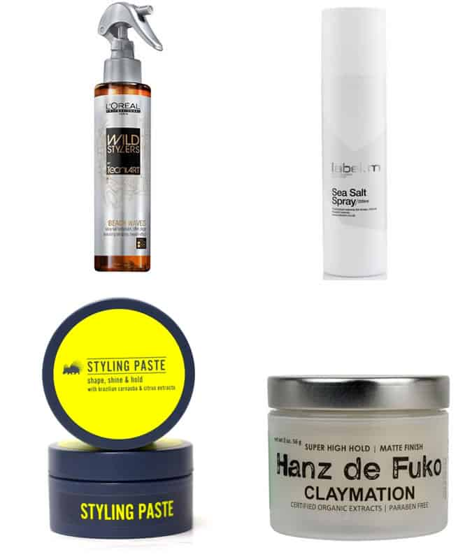 Recommended Men's Hair Products - Dramatic Contrasts and Big Shapes