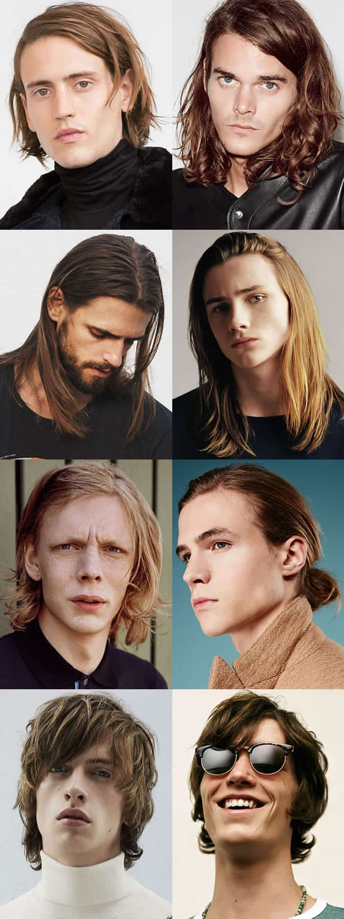 Men's Hairstyle Trends 2016 - Medium to Long Length Hair and Grungy Styles