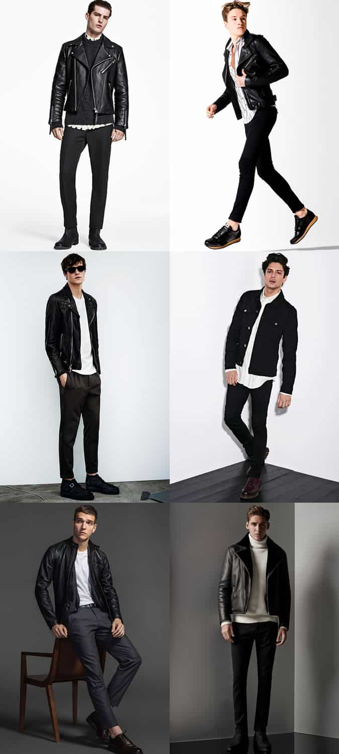 Men's Night Out Monochrome (Black and White) Outfit Inspiration Lookbook