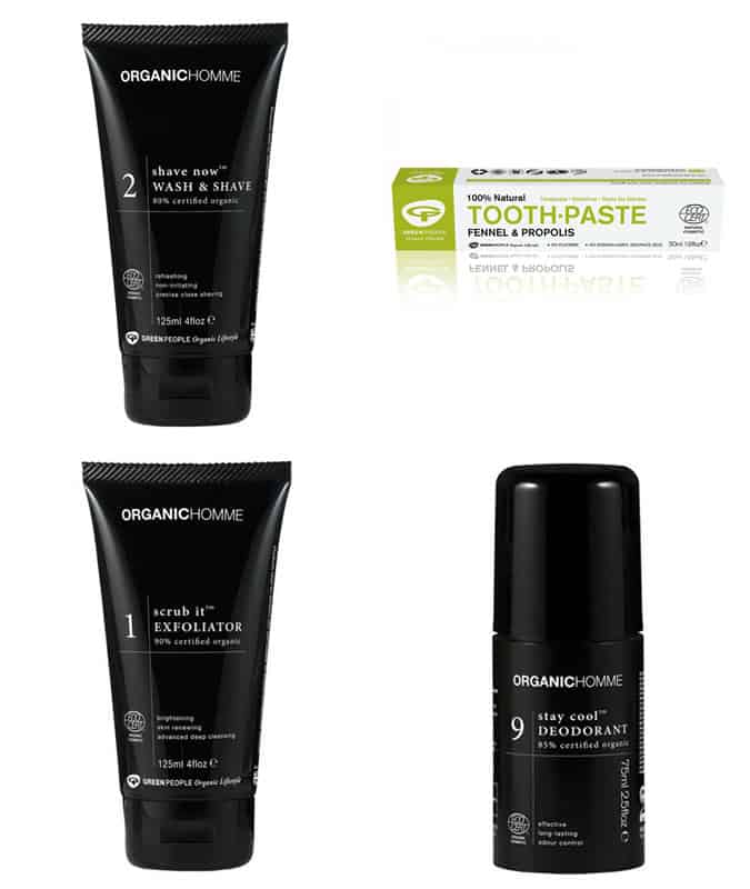 Organic Homme By Green People Grooming Products