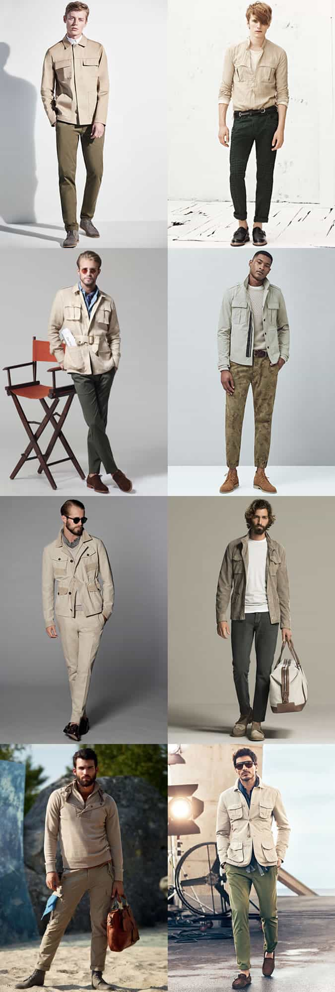 Men's Safari-inspired Outfit Inspiration Lookbook