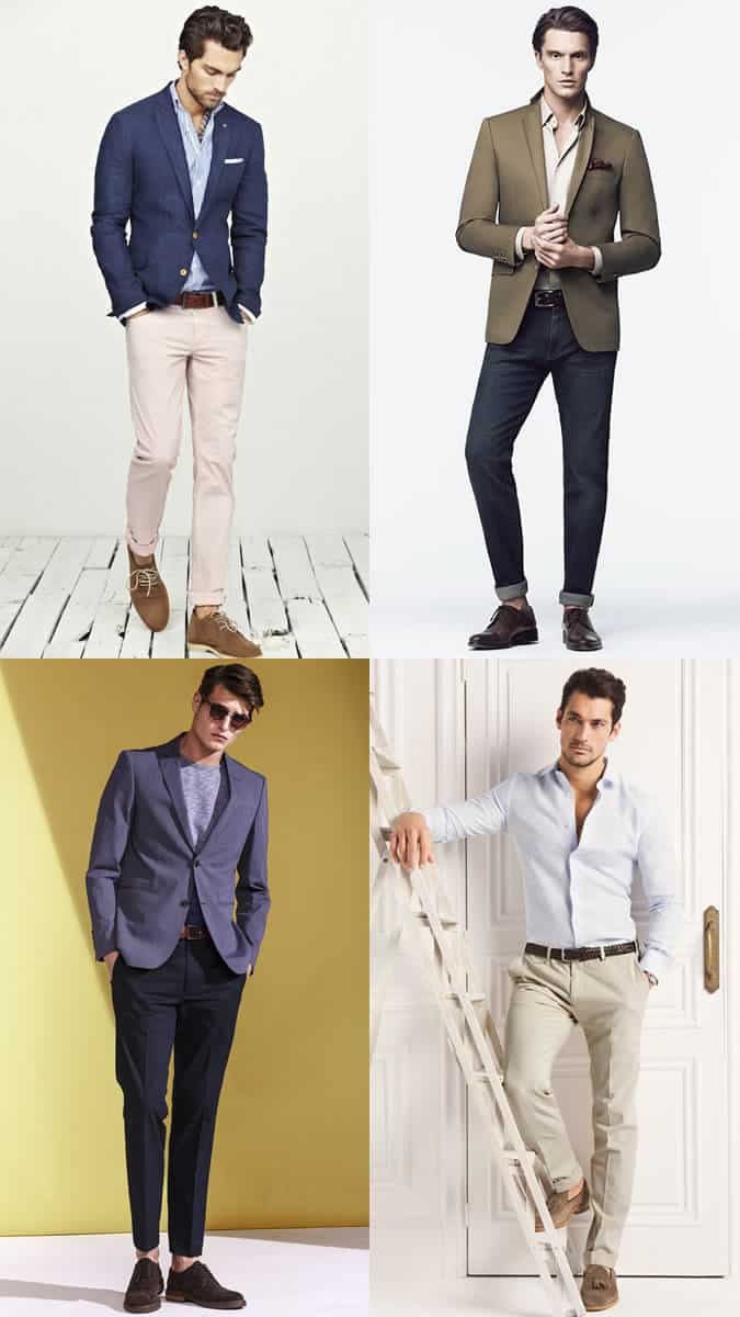 Men\u0027s Smart,Casual Dress Code Outfit Inspiration Lookbook