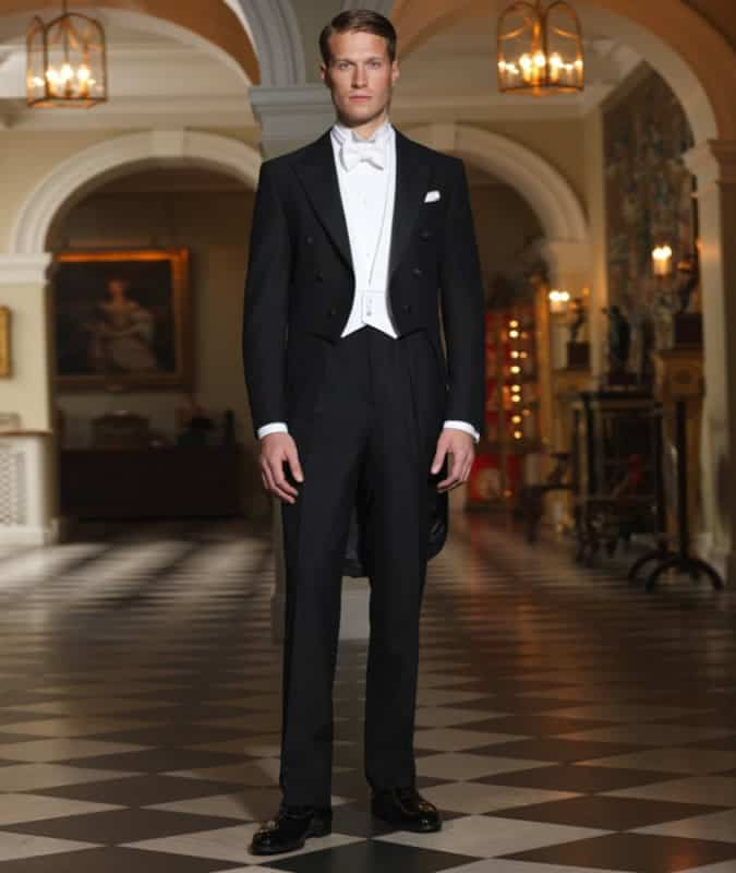 Men's White Tie Outfit Inspiration