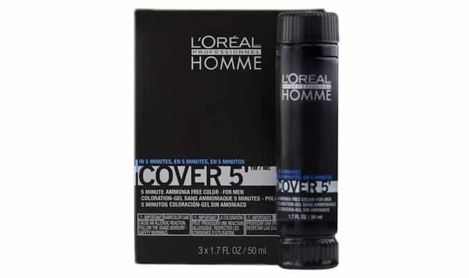 Men's L'Oreal Homme Cover 5 Grey Blending