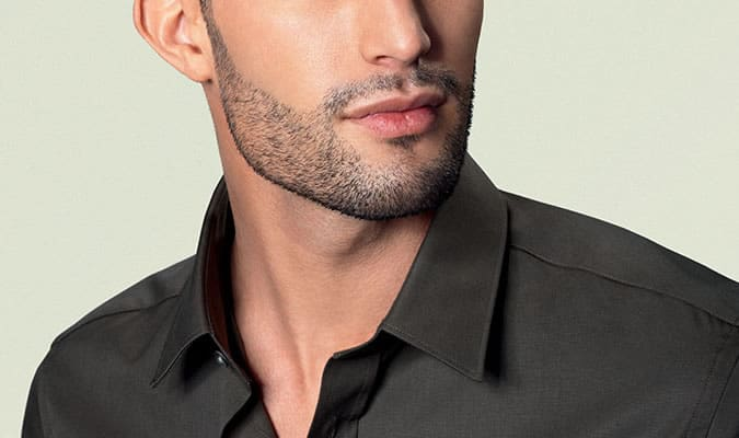 Don't over-shape your stubble