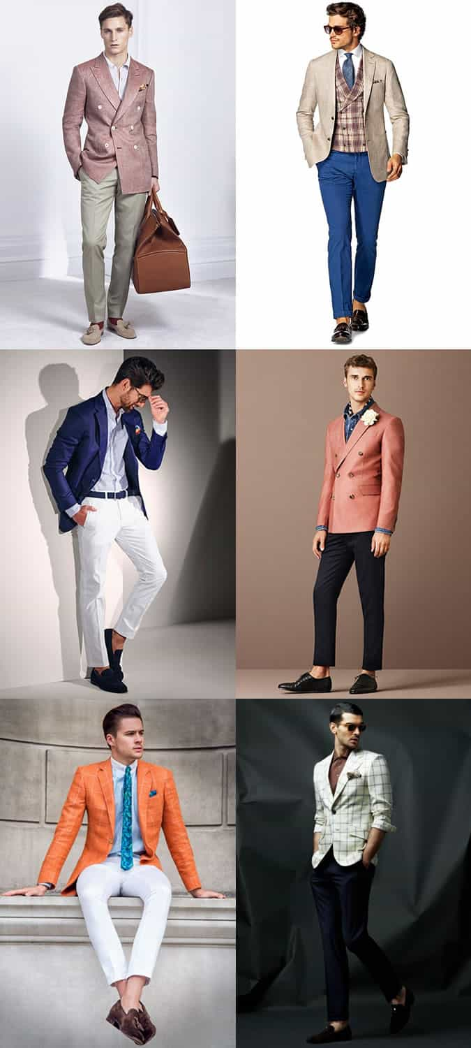 Men's Pitti Uomo Bold Tailoring Outfit Inspiration Lookbook