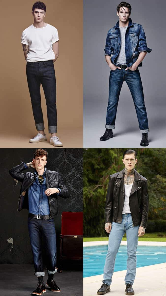 Men's Modern Greasers-Inspired Outfit Lookbook