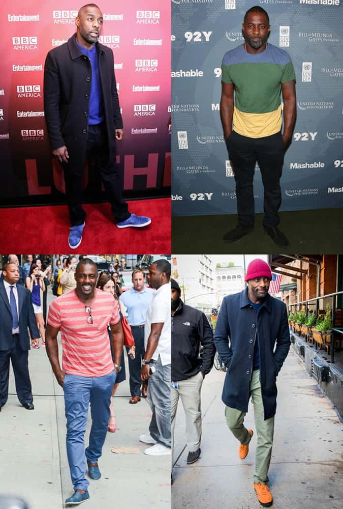 Idris Elba - Trend Outfit Lookbook