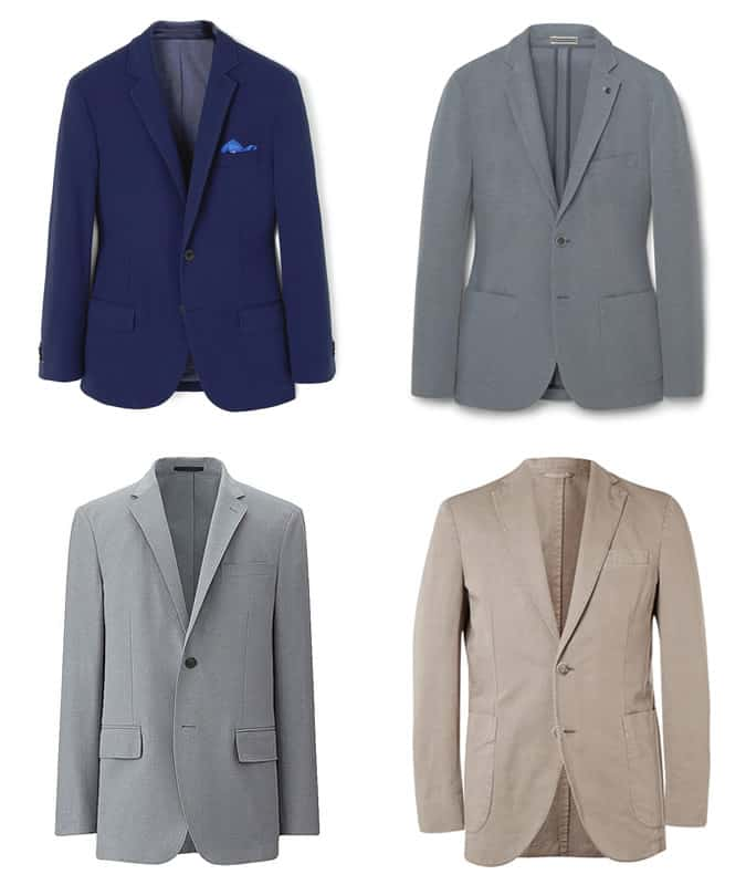 Men's Unstructured Blazers